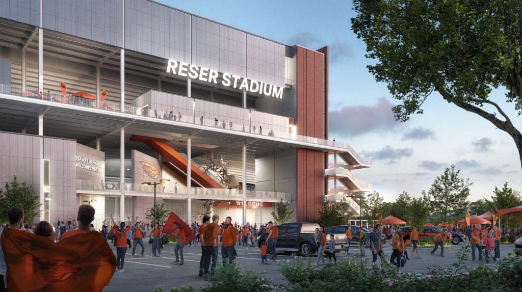West Side Reser Stadium - Welcome Center